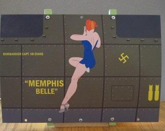 Aircraft Nose Art panel B-17 Memphis Belle WWII