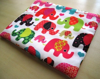 Macbook 11 Inch Laptop Cover Sleeve, Case, Bag- Padded and Zipper Closure - Lucky