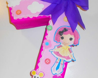 Lalaloopsy Pinata custom pinata personalized pinata lalaloopsy birthday party