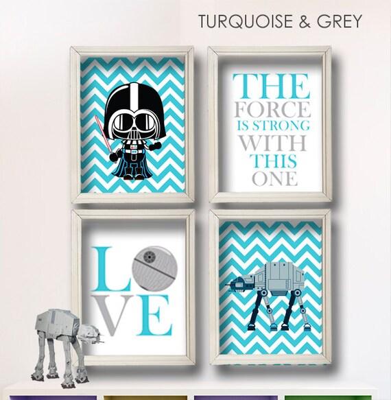 Items Similar To Baby Boy Star Wars Nursery Art Boy Room
