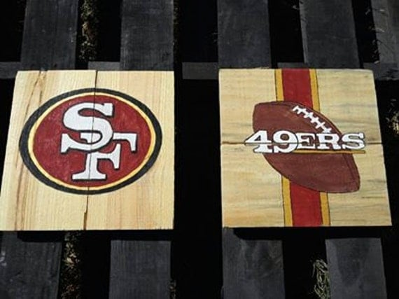 san francisco 49ers decor. Black Bedroom Furniture Sets. Home Design Ideas
