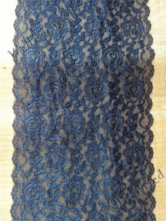 Items similar to 10ft navy table runner lace table runner for 10 foot table runner