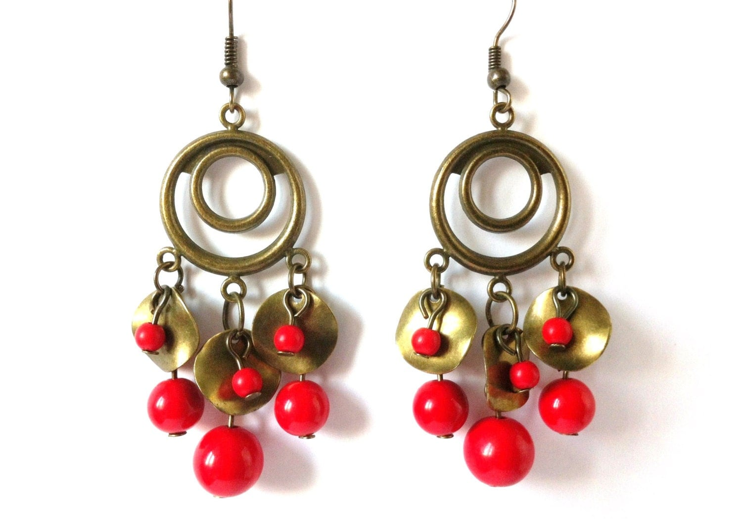 Buy low price, high quality long red earrings with worldwide shipping on downiloadojg.gq