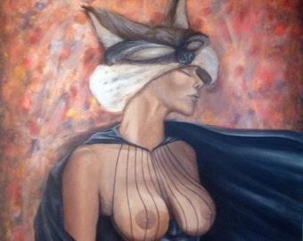 Heroin, 80x100cm, acrylic on canvas.