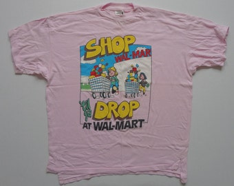 Vintage Shop 'Til Ya Drop At Wal-Mart T-Shirt