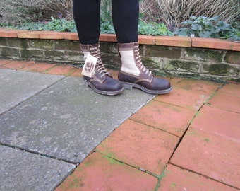 George Cox 10 Eyelet Boots