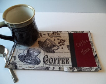 Coffee Time Mug Rug – Snack Mat