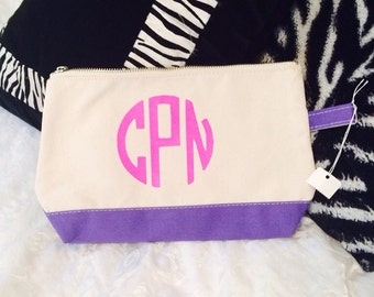 Iron on Monogram Decal - any fabric iron on - DIY