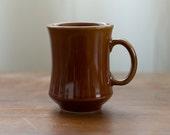 Vintage Brown Ceramic Mug