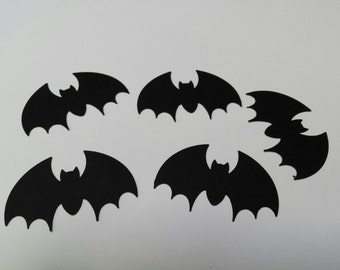 50- 2 inch bats- Hand punched die cuts