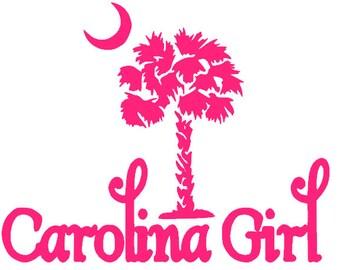 Carolina Girl Decal