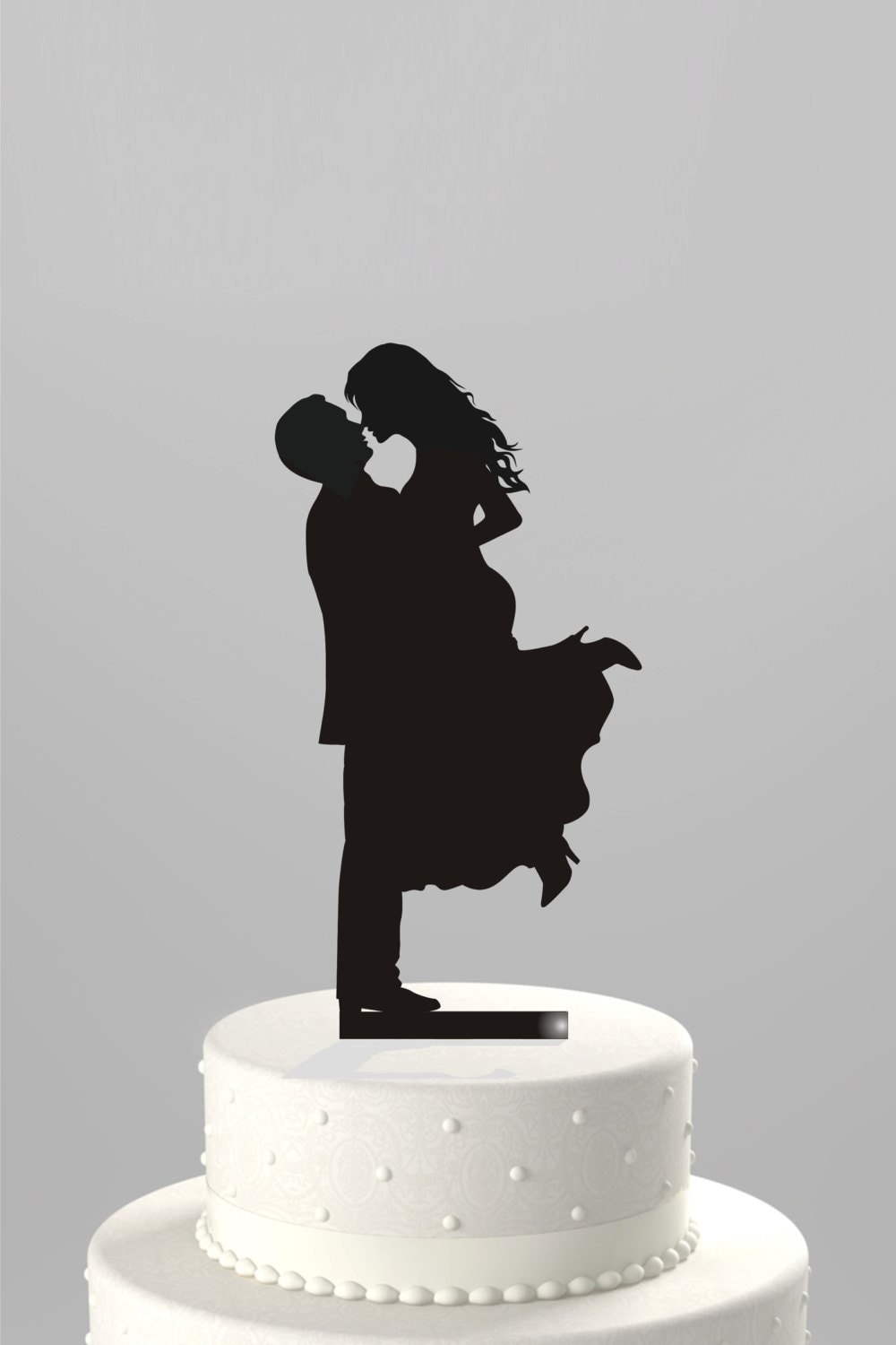 wedding cakes picture price ships next day wedding cake topper silhouette 25268