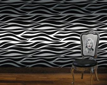 Wall Stencil/ Wall Decor - Calliope Stencil