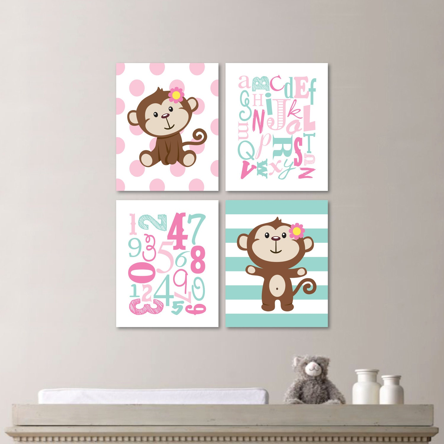 Monkey Bedroom Decorations Monkey Bedroom Etsy