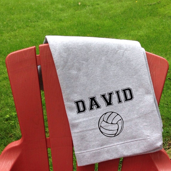 Beach Blanket Volleyball: Items Similar To Personalized Volleyball Sweatshirt