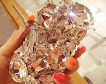 X37- DIY Diamond like Glass and Acrylic Mix Gems Deco Kit