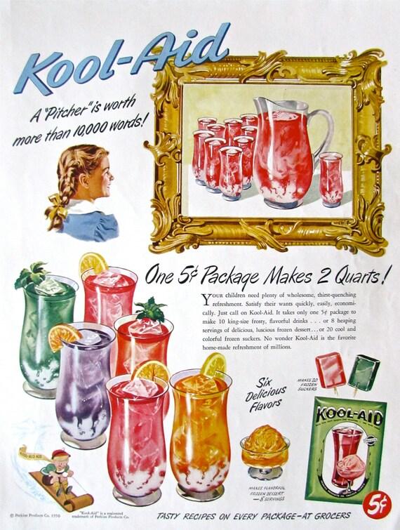 Vintage Ski |Magazine Ads 1960 Kool Aid