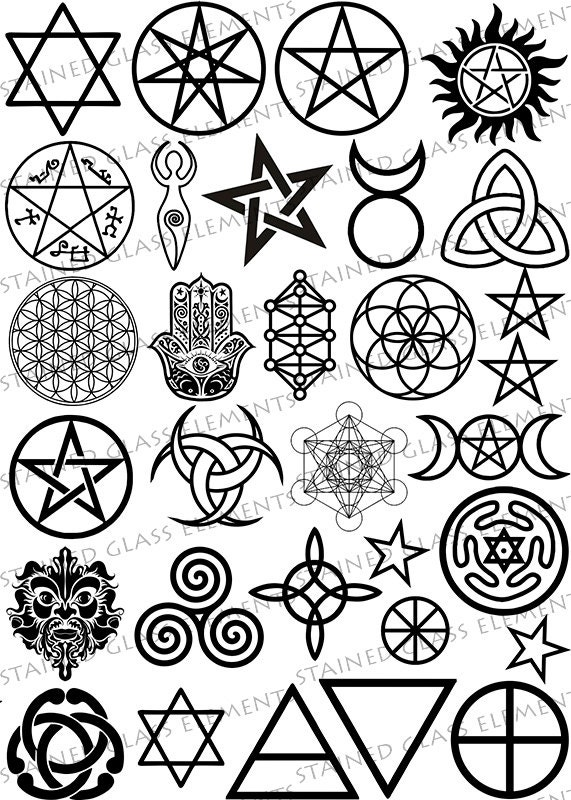 List Of Synonyms And Antonyms Of The Word Wicca Symbols