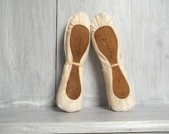Baryshnikov Ballet Shoes, Ballet, Ballerina, Gift, Vintage