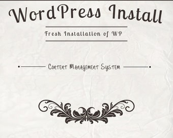 Full WordPress Installation