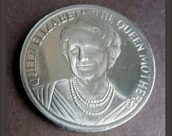 British Royalty Commemorative Medal. 100th Birthday of Queen Elizabeth the Queen Mother. Struck in the year 2000.