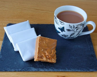 Homemade Scottish Aberfeldy Tablet Confectionery (Fudge)
