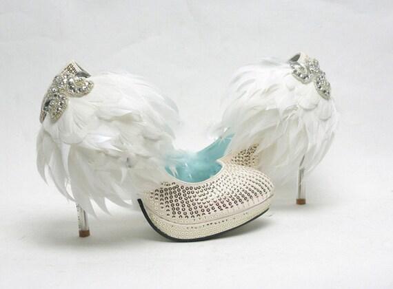 White Bling Wedding Shoes Bling White Wedding Shoes