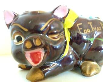 SALE For That Mink - Piggy Bank