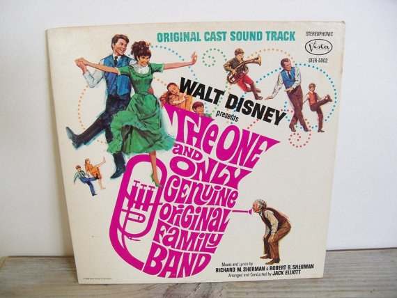 The One and Only Genuine Original Family Band Rare Disney Soundtrack Vintage Record Album 1968 Goldie Hawn Kurt Russel