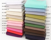 Plain Color Linen Fabric - 24 Colors Selection