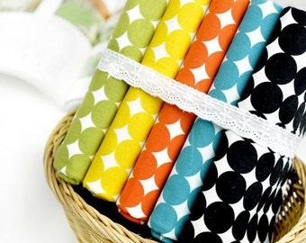 Scandinavian Nordic Style Mini Dots Pattern Fabric - 5 Colors Selection