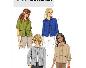 Misses' Jacket Butterick Pattern B5617