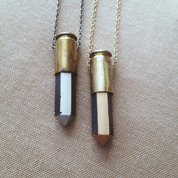 HARDWARE|| Shot in the Dark Reloaded Necklace