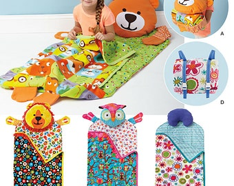 Simplicity Pattern 1389 Child's Nap Packs