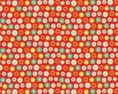Riley Blake Boy Crazy Stars in Red - My Mind's Eye Design - Boy Fabric - 1 yard