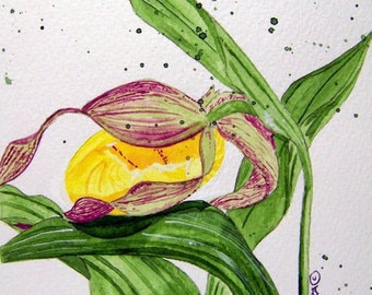 6 Beautiful notecards made from Original Watercolor Painting.