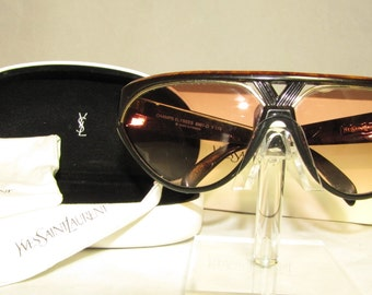 Vintage Yves Saint Laurent Champs Elysees 8961-O Y 174 RUNWAY Sunglasses