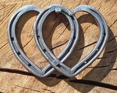 Horseshoe Hearts, Joined by a single nail and Blacksmith Forged
