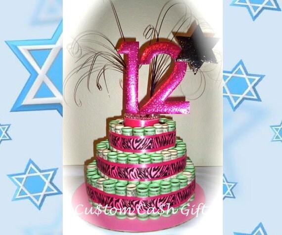 MONEY CAKE Made With Real Money. Bat Mitzvah