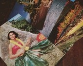 18 Vintage Hawaii Themed Travel Postcards (unused)