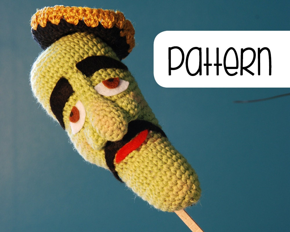 Jose Jalapeno On A Stick Crochet Amigurumi Pattern By