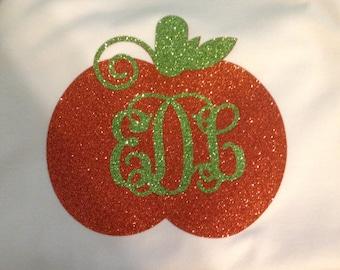 Personalized pumpkin shirt!