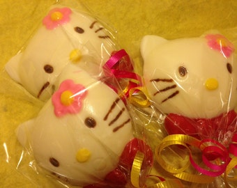 Chocolate Hello Kitty Pops 1 Dozen (12)