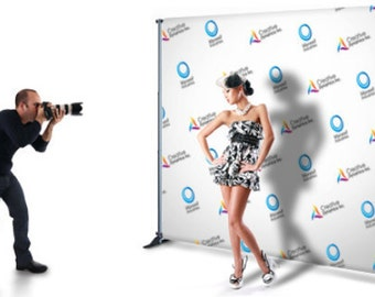 10x8ft,8x8ft Banner Stand, Backdrop Stand, Pipe and Drape, Special Event banner backdrop, Step and Repeat banner stand