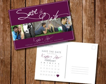 Printable Save the Date Postcard