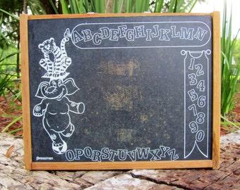 Chalkboard Toy Box Etsy