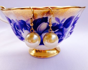 Classic Pearl Drop Earrings - Perfect for the Bride or a Gift for the Mother of the Bride, Bridesmaids, Wedding