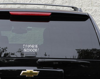 Geocaching decal in 11 colors