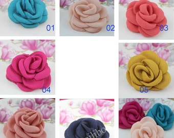 Fabric Flower. Wholesale Fabric Flower For Headbands Accessories