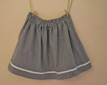baby skirt little squares
